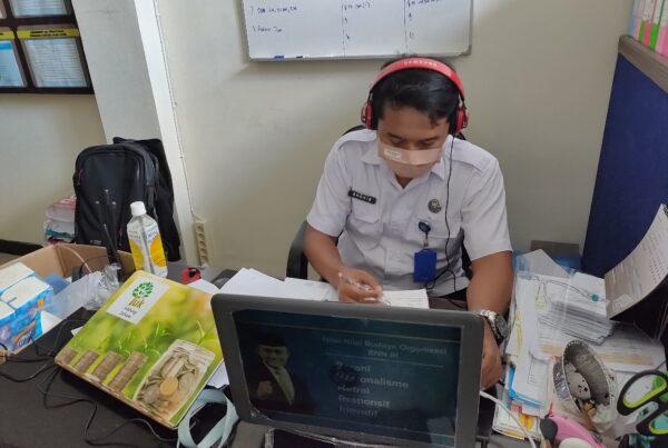 Peningkatan Kemampuan Petugas Pascarehabilitasi secara Virtual