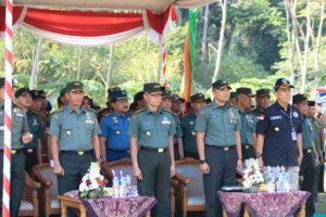 UPACARA PEMBUKAAN TMMD KE - 105 TAHUN 2019