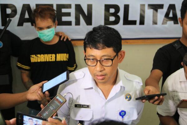 BNNK Blitar gelar Press Release Ungkap Kasus Narkotika