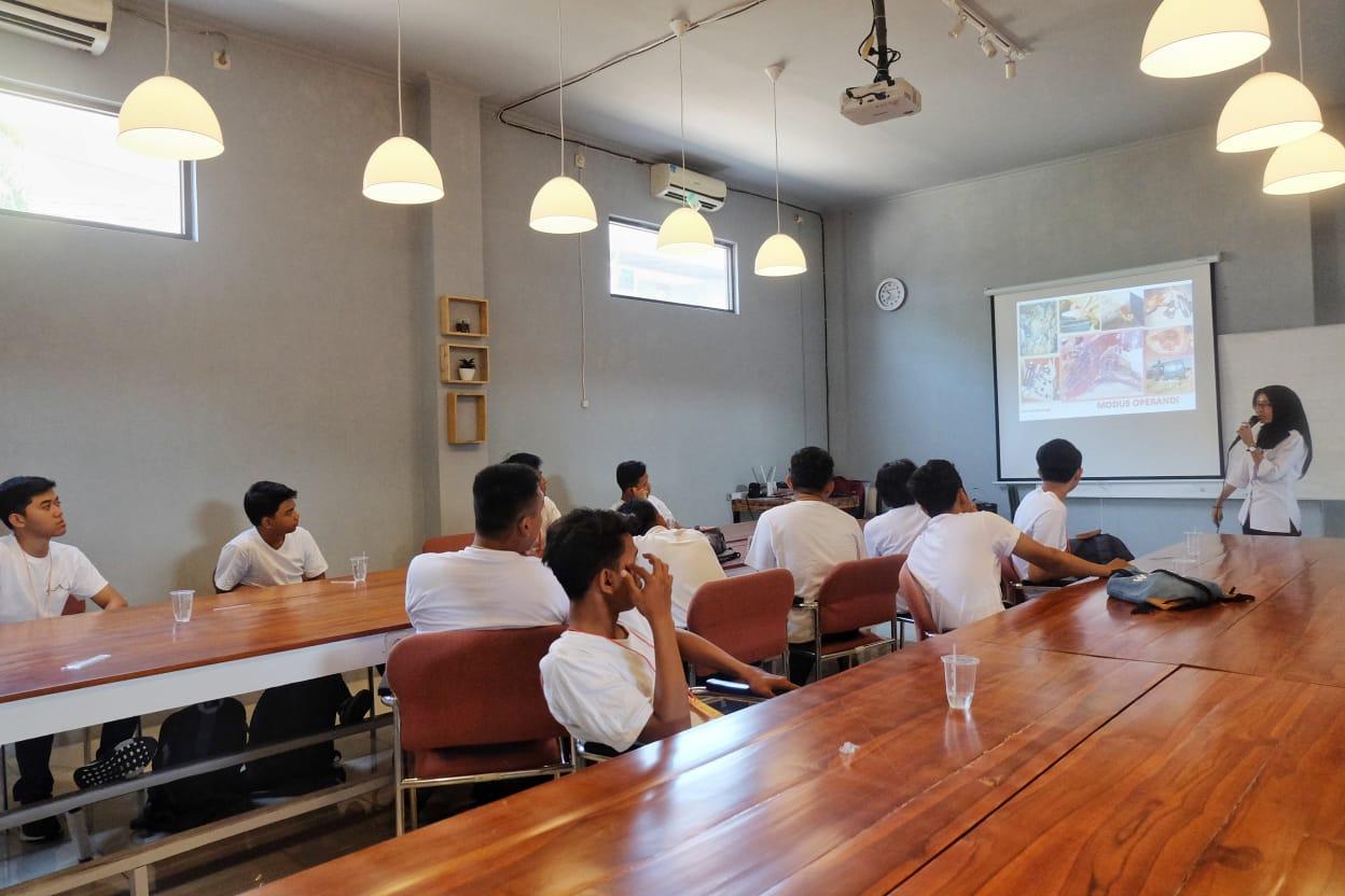 Sosialisasi P4GN dalam Ospek Argia Academy
