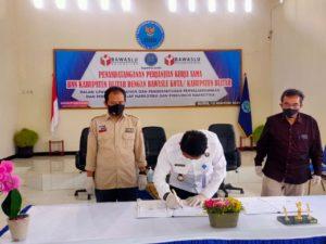 BNNK Blitar Jalin Kerjasama dengan Bawaslu Kota dan Kab Blitar