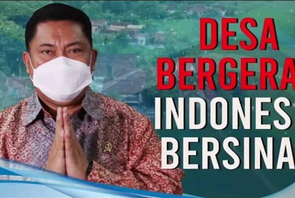 DESA BERGERAK INDONESIA BERSINAR BERSIH NARKOBA