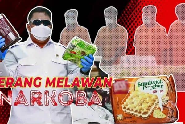 BNN PERANG MELAWAN NARKOBA, WUJUDKAN INDONESIA BERSIH DARI NARKOBA